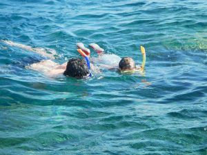 leguanito Barfußschuhe eignen sich auch im Wasser