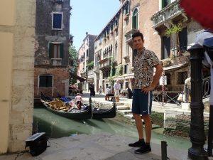 mit leguanos in Venedig