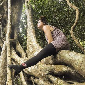 Baumriesen erklimmen in leguanos