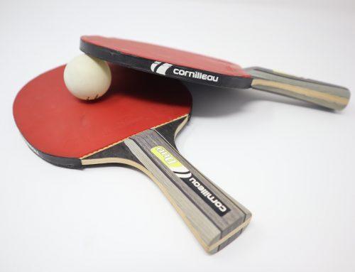 Tischtennis mit Barfußschuhen