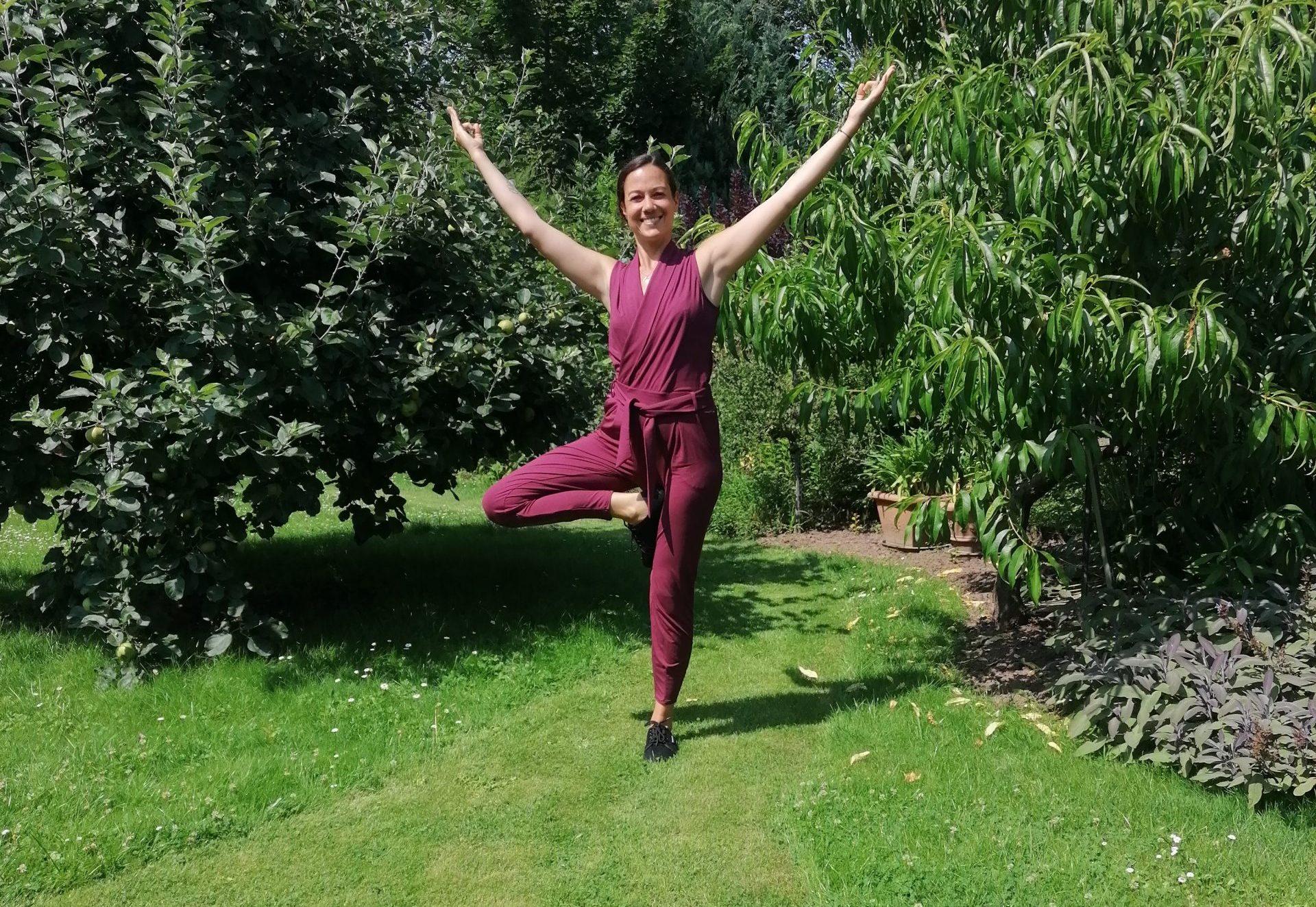 Barfußschuhe beim Yoga