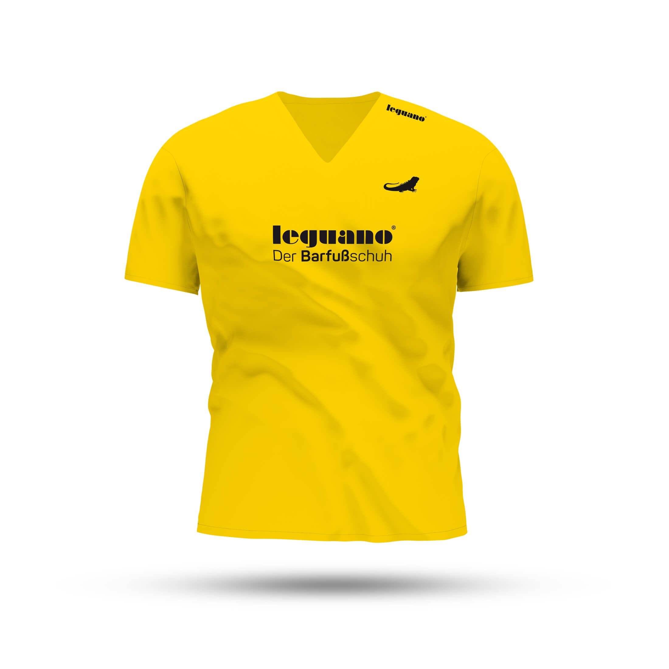 Sport-T-Shirt mit V-Ausschnitt