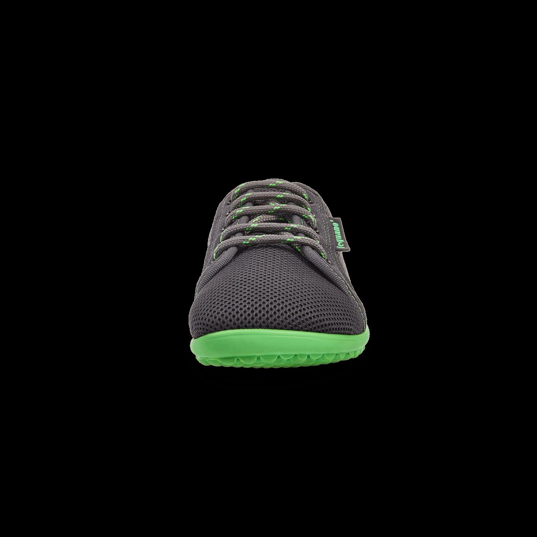 leguano aktiv Barfußschuh grau//grüne Sohle Gr 36-47~~~ NEU ~~~ Barfuss Schuhe