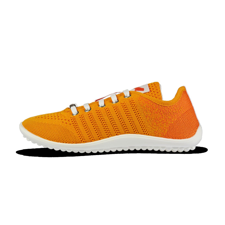 Leguano Go: Orange - Barfußschuh  - Orange