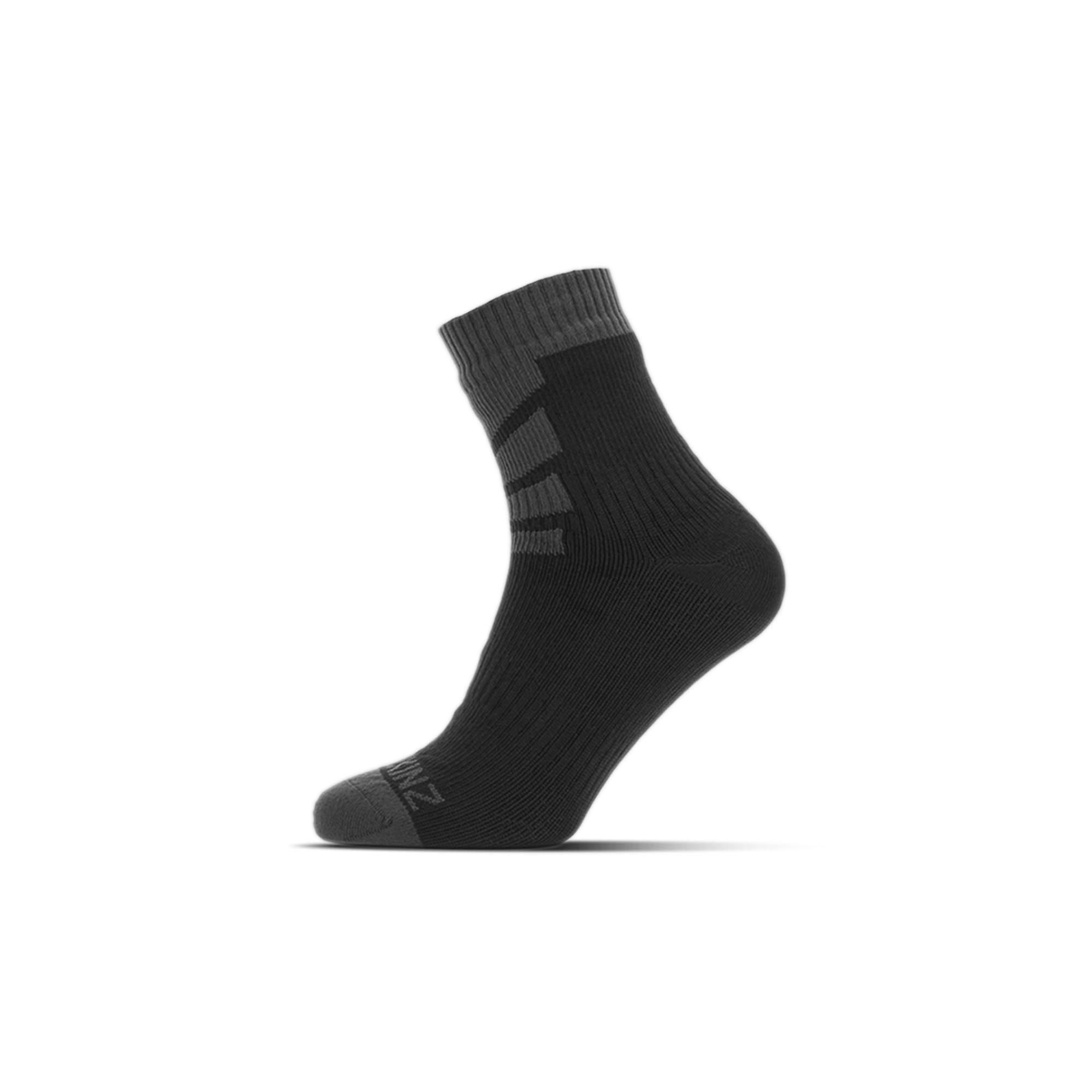 Sealskinz® wasserdichte Socken schwarz-grau